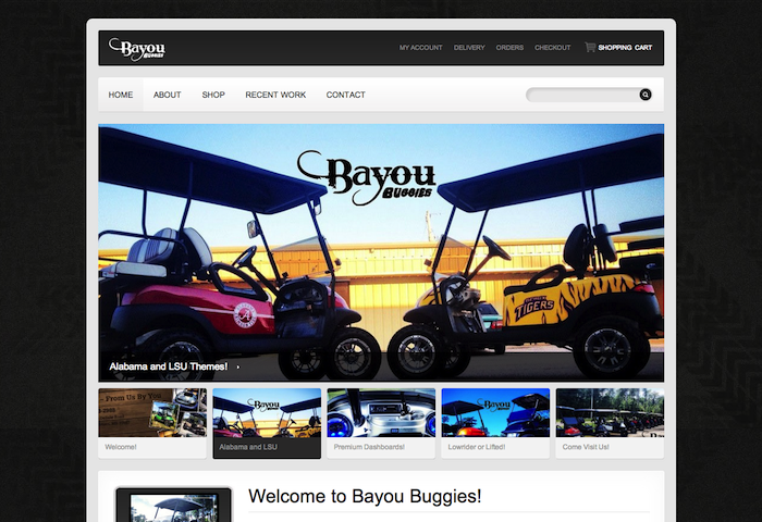 Bayou Buggies   Carts from Us by You