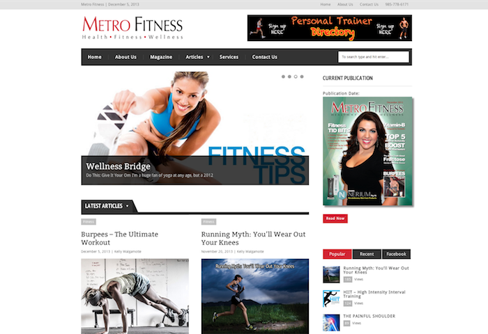 Metro Fitness   Health – Fitness – Wellness
